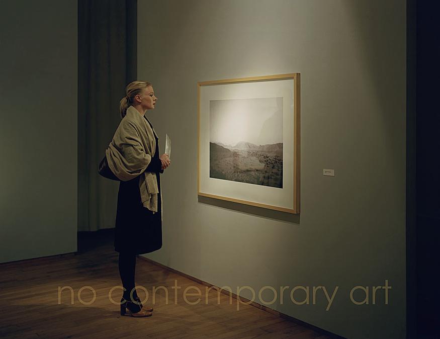 © Kris Scholz - No Project 1 | no contemporary art | 100 x 120 cm | 2007