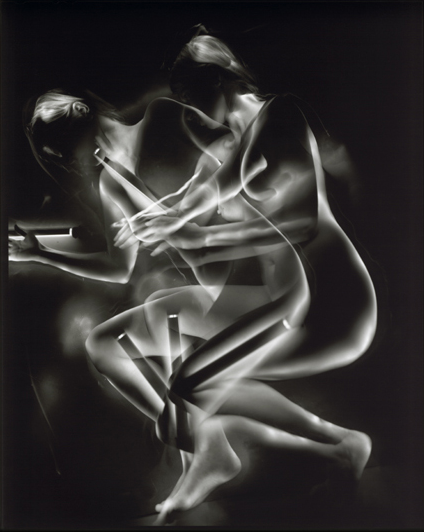 "© Pavel Odvody - Body Study, 9.5x7.5"", B/W Contact Print"