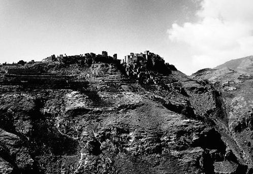 """© Renate Scherra - From 'Landscapes - Yemen' Series, 1989, Silver Gelatin Print, 16x12"""""""