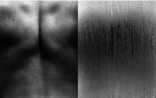 """© Edouard de' Pazzi - From 'Eros and Thanatos' Dyptich Series, 20x32"""", B/W Print"""