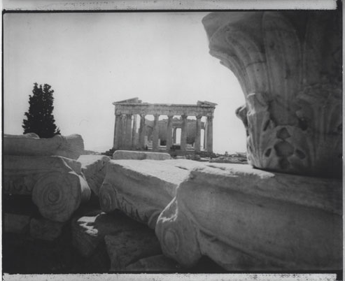 From 'Landscapes - Acropolis, Greece' Series, 1971, Silver Gelatin Print, 16x12""
