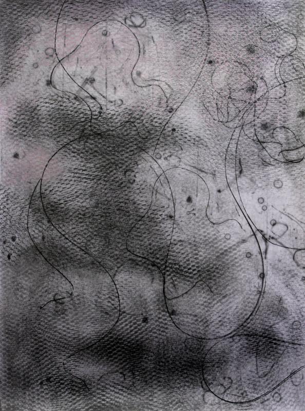 © Milko Pavlov - Marathon 2010-2098, Graphite on Paper, 140,5x105cm