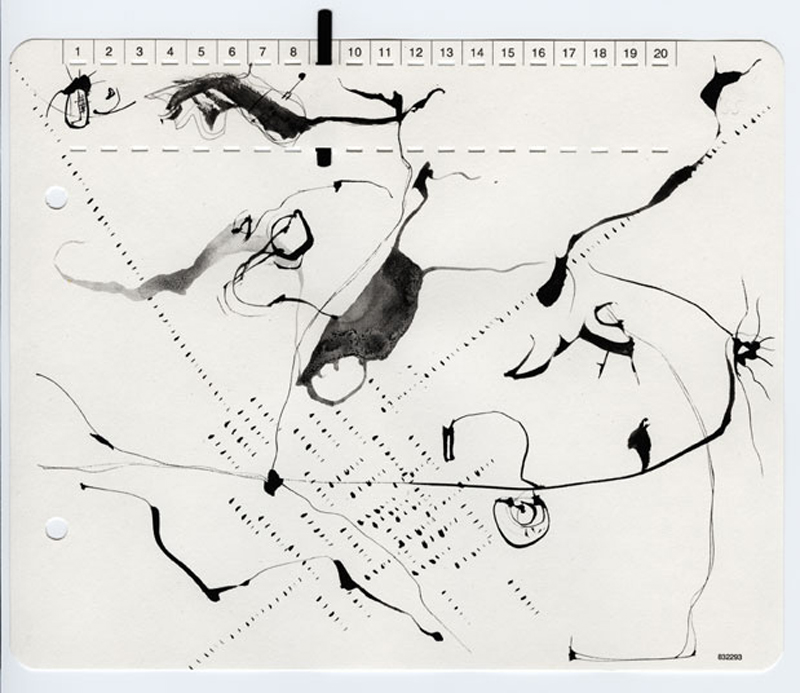 ©Wolfgang Herbold - z_06-03-05_01, Drawing, 2005