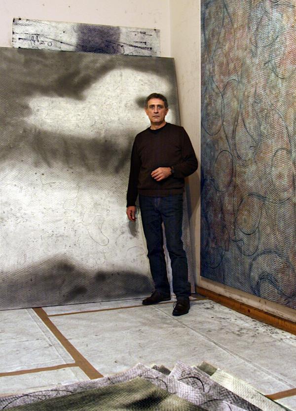 Milko Pavlov, Studio Berlin, 2012 by Rolf Goellnitz