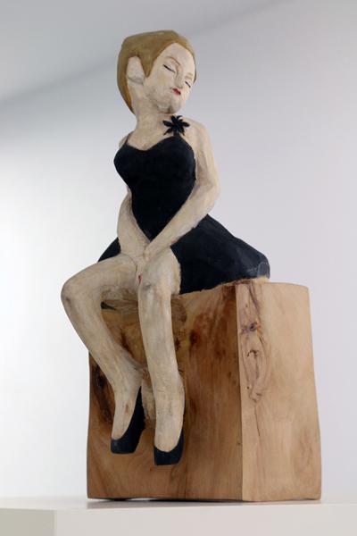 HIDEKI, Iinuma (Japan) L'Endre (2002) Wood Sculpture