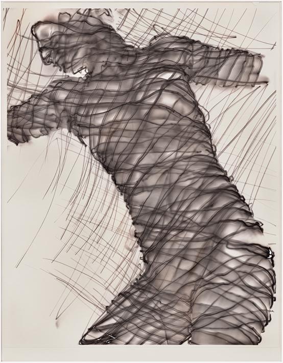 "©Pavel Odvody - ""Seismogram of Ophelia"" inkjet print 8x10"" und 31x39 cm"
