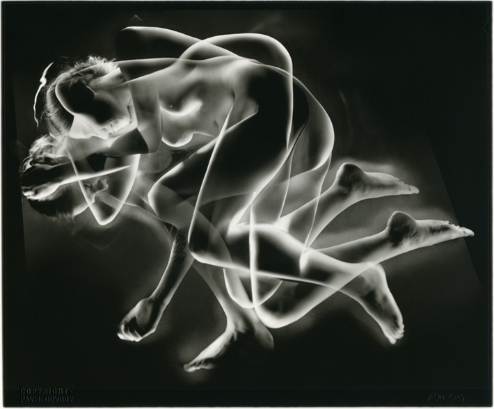 "©Pavel Odvody - ""Study of lying Nude"" 8x10"""