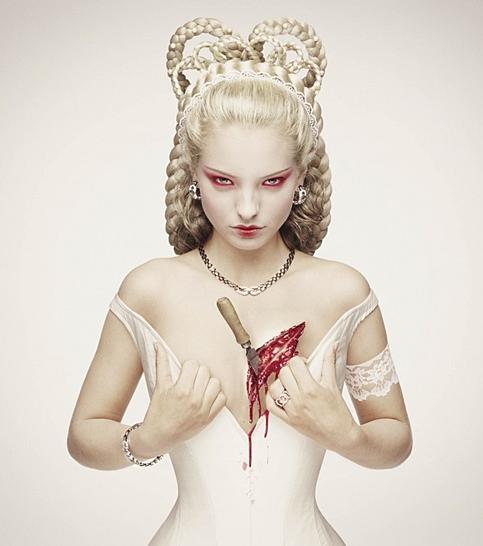 © Erwin OLaf - 'Sissi'  from 'Royal Blood ' Series, 2000, Lambda Print