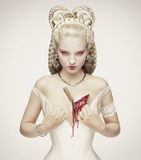 © Erwin OLaf - 'Sissi'  from 'Royal Blood ' Series, 2000, Lambda Print