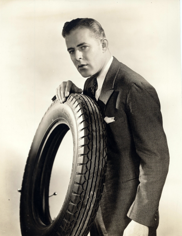 Anonymous - Advertising Image for Goodrich Tires - Courtesy of The OMC Gallery