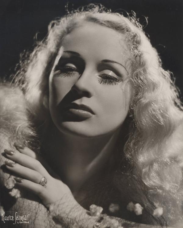 Maurice Seymour, Chicago - 1940s - Diane van Dyne, Burlesque Dancer