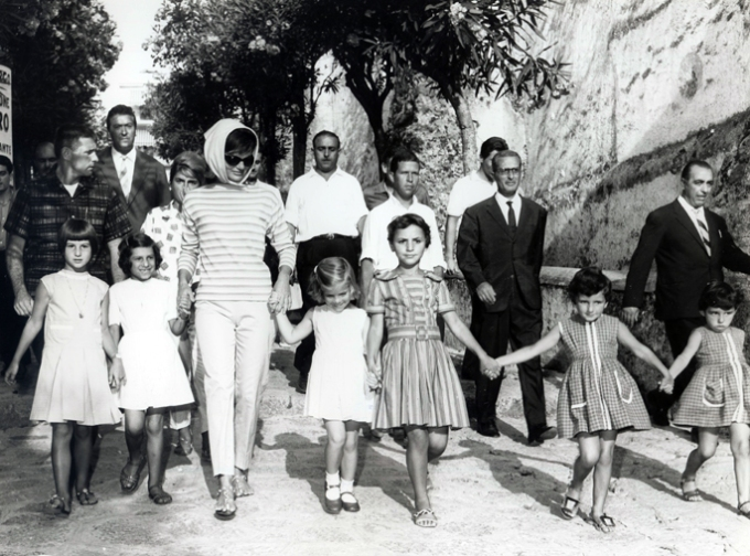 Jacqueline Kennedy in Greece - Hellas Press Photo, Courtesy of The OMC Gallery