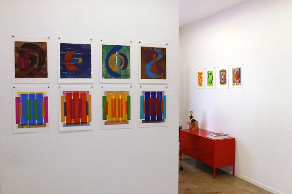 Ernst Wille - Color Studies, Gouache on Paper, 1997 - 2002