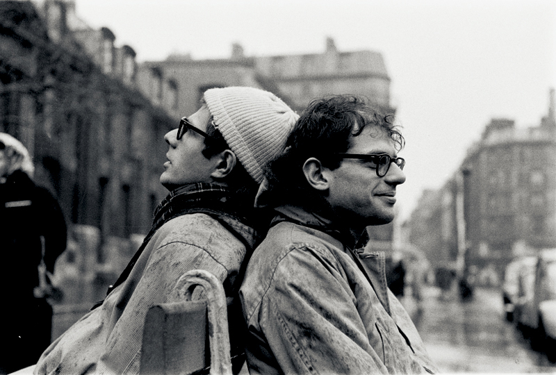 Courtesy of The OMC Gallery-©Harold-Chapman-Peter-Orlovsky-and-Allen-Ginsberg-1957-Saint-Germain-Paris