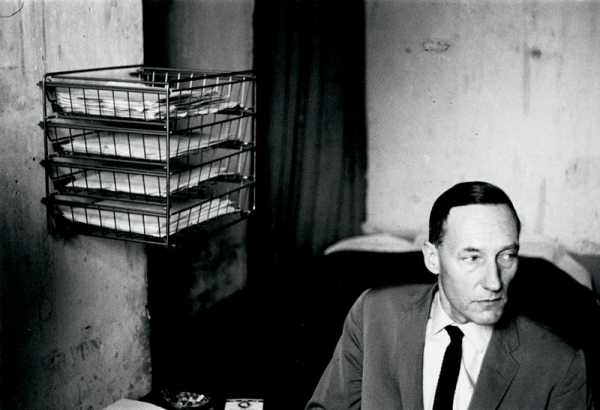©Harold Chapman, William S. Burroughs in his room at the Beat Hotel ~1960